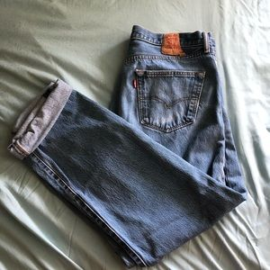 Red Tag Vintage Levi's